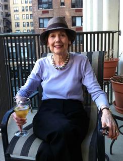 Scott Simon's mother, Patricia Lyons Simon Newman.